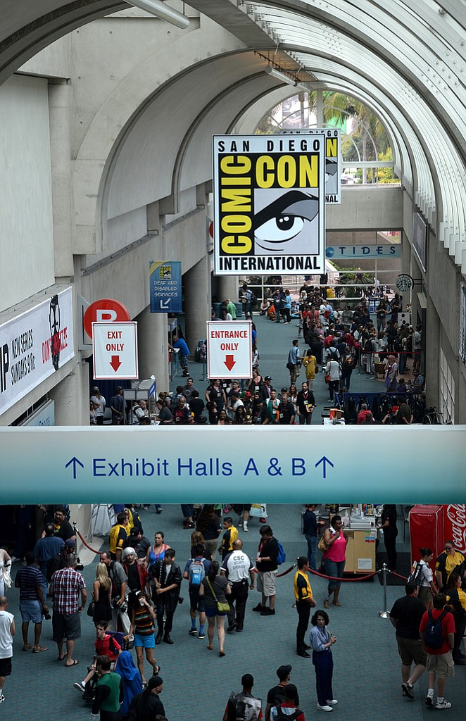 2014 Comic-Con -- Photo courtesy of San Diego Convention Center Corp.