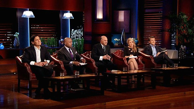 """Shark Tank"" judge panel"