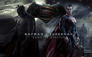 First Up at Bat: Poster for DC's 'Batman vs. Superman,' opening March 25.