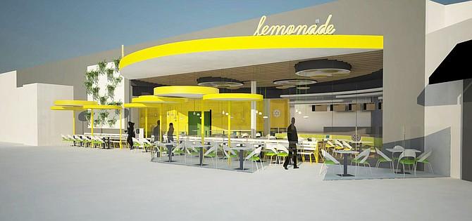 Westfield UTC location – Rendering courtesy of Lemonade