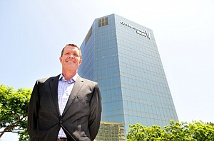 Good Space: Eric Lastition at Skyview Center, a property not open to hotel conversion.