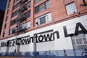 Tough Times: American Apparel's downtown L.A. HQ.