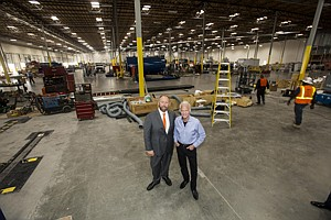 Rage With Machines: David Weissberg, left, and Dennis Mehiel at their Santa Fe Springs facility.