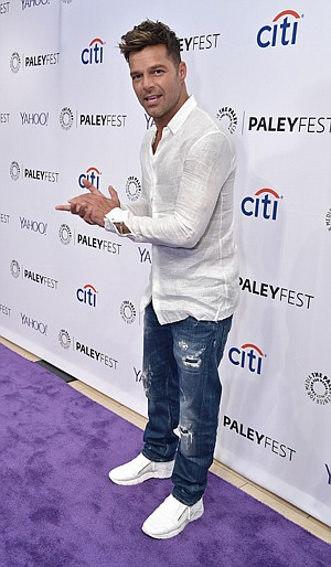 Star Turn: Ricky Martin at Beverly Hills' Paley Center for Media.