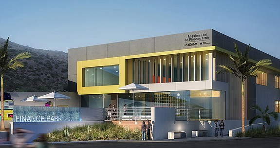 A rendering of Mission Fed JA Finance Park -- Photo courtesy of Junior Achievement of San Diego County