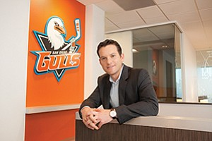 Ari Segal, the president of business operations for the San Diego Gulls, says the team's