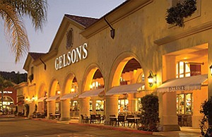 Upscale grocer Gelson's Markets is seeking to buy three local Haggen locations, which would become the first San Diego County stores for the Encino-based company. The grocer's Calabasas store is shown here.