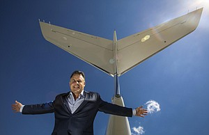 Wind Beneath Their Wings: Jet Edge International co-founder Bill Papariella at Van Nuys Airport.