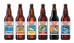 Ballast Point Brewing is hoping to raise up to $172.5 million with a planned IPO. The recent acquisition of Saint Archer along with this planned IPO show the changes in an industry that prided itself on its small, independent operations. Photo courtesy of Ballast Point Brewing & Spirits Inc.