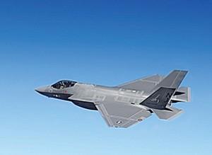 Northrop Grumman Corp. has a contract to design radios for the F-35 program. Photo courtesy of Lockheed Martin Corp.