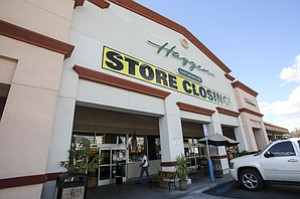 Shelved: Haggen's Burbank store, one of 15 in Los Angeles the chain is closing.