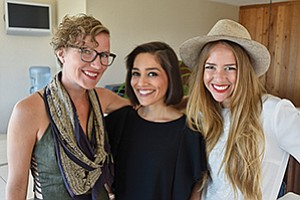 Amber Brandner, left, Lolita Taub and Lauren Avenius are defining what it means to be a millennial businesswoman.