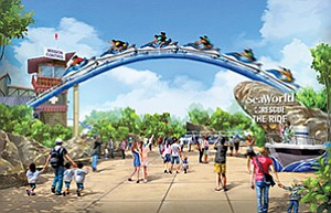 SeaWorld's recently announced initiatives also included concepts for an upcoming rescue-themed roller coaster and related attractions.