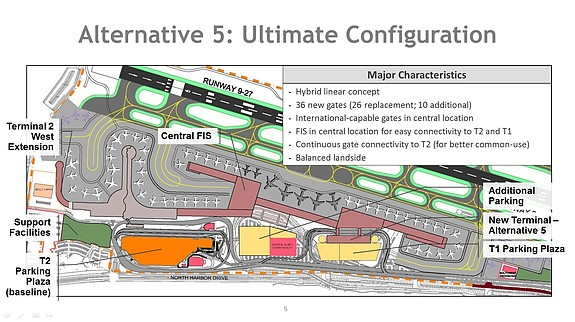 Rendering/map courtesy of San Diego International Airport