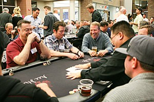 Members of the La Costa 35 Athletic Club gathered at the 5th Annual Texas Hold 'Em Poker Tournament to raise funds for the Boys & Girls Clubs of Carlsbad.
