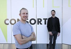 Brick and Mortar: Brandon Quattrone, left, Mat Sanders at L.A.'s Consort.