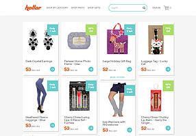 Screenshot of Hollar.com