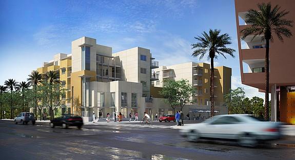Rendering courtesy of Community HousingWorks