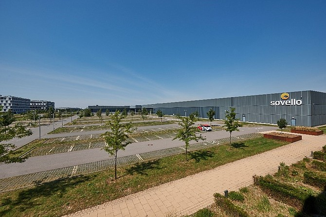 The former Sovello solar panel production facility in Leipzig, Germany -- Photo courtesy of Westcore Properties