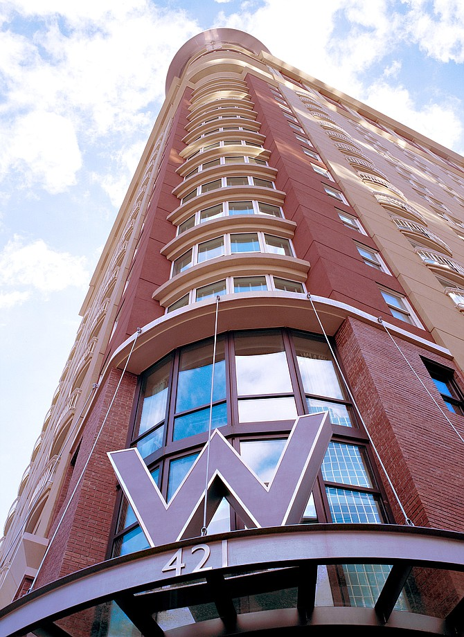 421 West B Street -- File photo courtesy of W San Diego Hotel