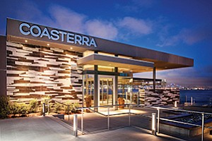 Cohn Restaurant Group's Coasterra was among several new eateries that opened in San Diego during 2015. Local operators of restaurants, hotels and other hospitality businesses will be among those watching for the outcome of a June 2016 ballot proposal to raise the city's minimum wage. Photo courtesy of Cohn Restaurant Group