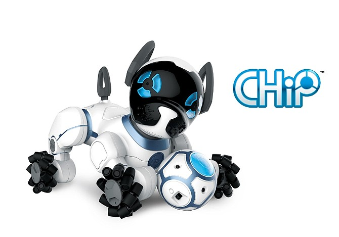 A robotic dog named CHiP (Canine Home Intelligent Pet) debuted at the CES 2016.