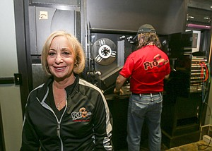Looking Up: Rhonda Vigeant at Pro8mm, which has benefited from a surge in movies shot on film.