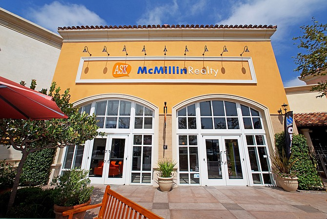 The McMillin Realty office at 872 Eastlake Parkwayy, Chula Vista.