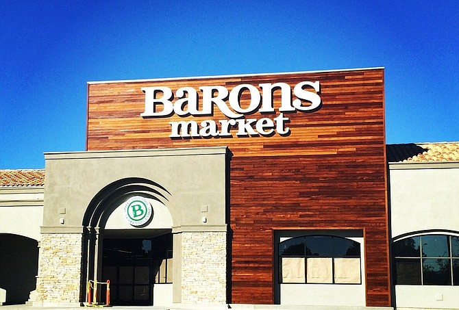 The new Murrieta location of Barons Market will be the grocer's sixth store -- Photo courtesy of Barons Market