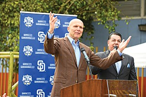 Photo courtesy of Denis Poroy/San Diego Padres