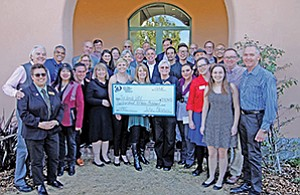 Eleven nonprofits were honored with a $215,000 grant at a recent luncheon hosted by the San Diego Human Dignity Foundation.
