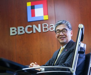 More Products: Kevin S. Kim at Koreatown headquarters of BBCN Bancorp and BBCN Bank.