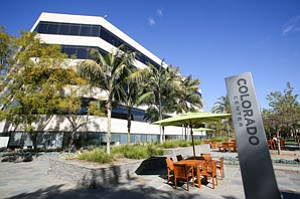Open for Businesses: Santa Monica office complex Colorado Center, where available space rose to 455,000 square feet with the departure of Yahoo to Playa Vista.