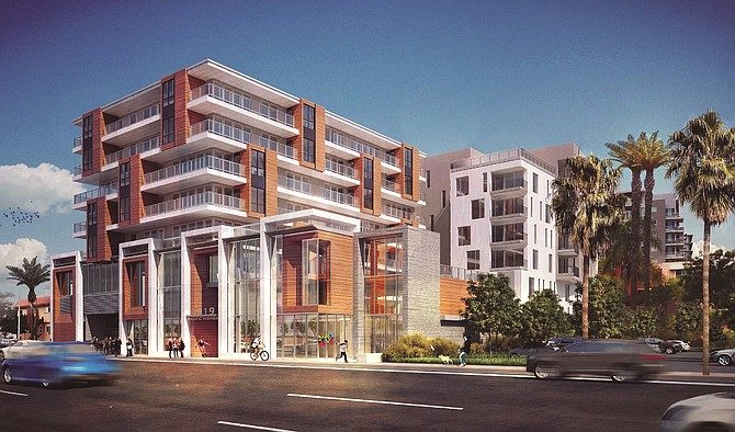 1919 Pacific Highway -- Rendering courtesy of Colliers International