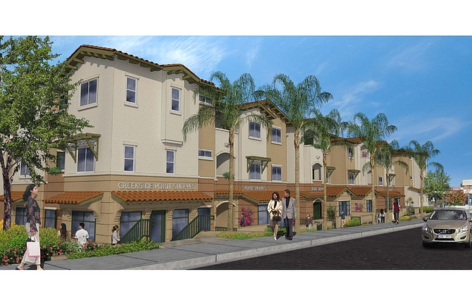 Creekside Pointe – Rendering courtesy of Rodriguez Associates, Xpera CM