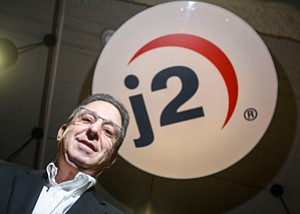 Stalking Deals: J2 Global CEO Hemi Zucker at the Internet services and media firm's Hollywood headquarters.