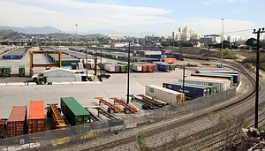 Principal Hub: Union Pacific Railroad's 125-acre Piggyback Yard in Lincoln Heights. The railroad says it has no plans to sell the busy cargo shipping property.