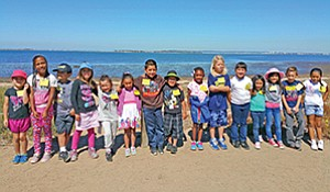 A group of local fourth-graders enjoyed a field trip to the Living Coast Discovery Center made possible by a grant from the National Park Foundation. Photo courtesy of the Living Coast Discovery Center
