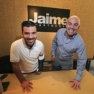 Alfredo Jaime, left, and Rodolfo Farber founded Jaime Partners in 2012 and are experiencing significant growth.