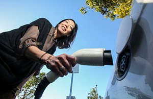 Fueling Buzz: Caroline Choi at SoCal Edison in Rosemead.