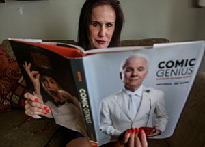 Helping Turn Page: Laugh Factory's 'resident' psychologist, Ildiko Tabori, at her office in Culver City.