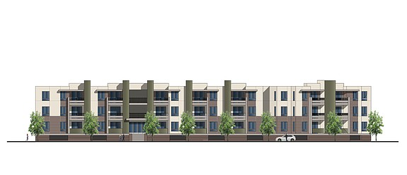 Rendering of 7811 Mission Gorge Road -- Rendering courtesy of Colliers International Group Inc.