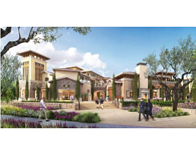 Meritage Commons rendering