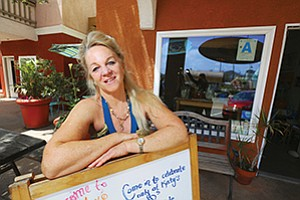 Café owner Katy Fallon celebrates 10 years in business in May