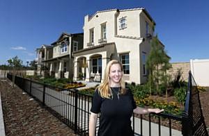 Comstock Homes' Lisa Harkson.