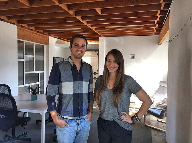 Wonderist Agency founders Laura Maly and Michael Anderson -- Photo courtesy of Wonderist Agency