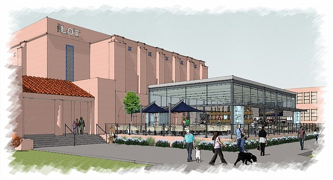 The Lot Liberty Station – Rendering courtesy of Boffo Cinemas LLC