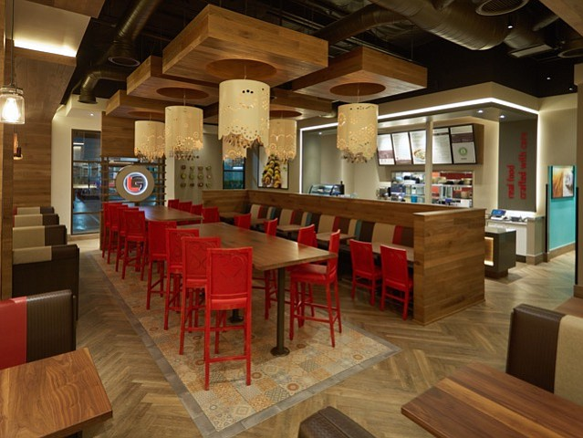 Luna Grill recently opened this location in La Cañada Flintridge, its first in Los Angeles County, featuring a new interior design -- Photo courtesy of Premier Food Concepts LLC
