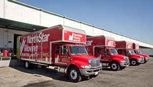 NorthStar trucks at Chatsworth facility.