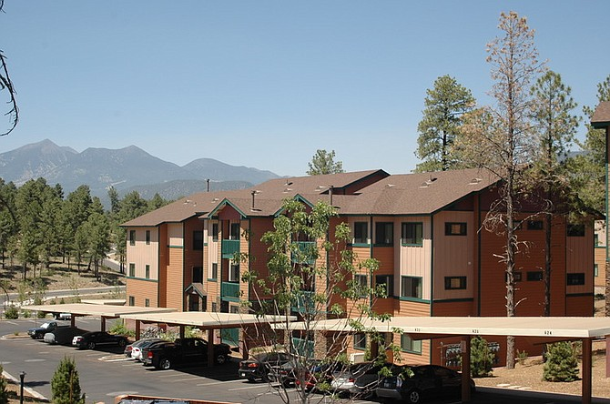 Ridge at Clear Creek Apartments in Flagstaff, Ariz. – Photo courtesy of Red Rock Investment Management